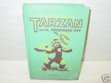 Vintage,Book,Tarzan,Forbidden City,Burroughs,Monkey,Boy