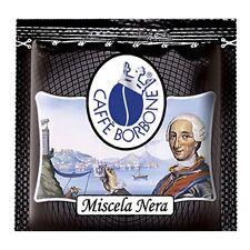 600 CIALDE IN FILTRO CARTA CAFFE' BORBONE MISCELA NERA ESE 44MM FRESCHE NERO