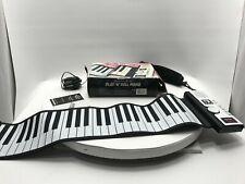 Sharper Image Model Gu001 Play 'n' Roll Piano Rollable 49 Keys