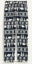 Nwt Old Navy Fair Isle Polar Bear Flannel Pajama Pants Sleep Lounge Men Xl New
