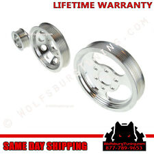 MK4 VW 1.8T 2.0 Lightweight Underdrive Pulley Set