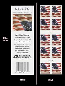US 5160a Flag forever booklet BCA (10 stamps) MNH 2017