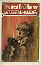 EO ANGLAISE 1976 NICHOLAS MEYER + PASTICHE SHERLOCK HOLMES : THE WEST END HORROR