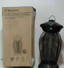 New listing Westinghouse Q53Ba1003-08 Solar Charged Bug Zapper $107