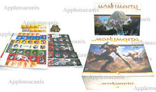 Monumental Deluxe Edition Kickstarter  Board Game w/Lost Kingdoms/Tokens/Coins
