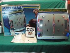 Marx Electro Hockey Game + Box Parts Or Repair Vintage Game