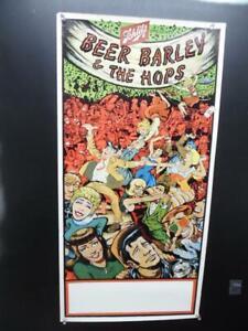 1973 Schlitz Beer Presents Beer Barley & The Hops Advertising Poster Vintage NOS