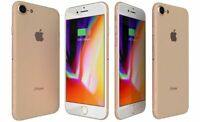 Apple iPhone 8 - 64GB - Gold (Unlocked) A1863 (CDMA + GSM) Very Good Condition