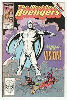 West Coast Avengers #45 (Marvel 1989) 1st White Vision (Colorless) - WandaVision
