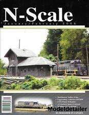 N-Scale Jan.2006 Athern SD70M CSX Paint Midland City Depot Layout Nella Chessie