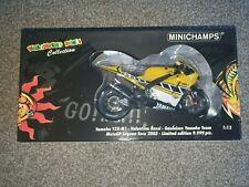 1/12 Minichamps Valentino Rossi 2005 Laguna Seca Gauloises Yamaha YZR-M1 9,999