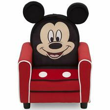 Delta Children Figural Upholstered Kids Chair Disney Mickey Mouse
