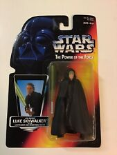 1995 Star Wars Power of the Force POTF2 Red Card Jedi Knight Luke Skywalker- MOC