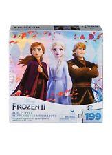 Disney Frozen 2 Movie 199 Piece Metallic Foil Puzzle Anna Elsa Kristoff