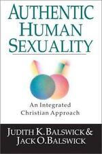 Human Sexuality:  Balswick, Jack,