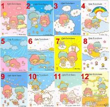 SANRIO RAREST KAWAII CUTE LOT 32 LITTLE TWIN STARS COLLECTIBLE MEMO CARD