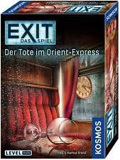 Kosmos 694029 EXIT Das Spiel Der Tote im Orient-Express Escape Room Level Profis