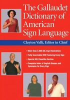 Gallaudet Dictionary of American Sign Language, Hardcover by Valli, Clayton (...