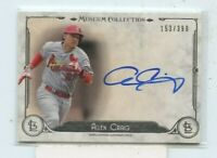 ALLEN CRAIG 2014 Topps Museum Collection Archival Signatures On Card Auto /399