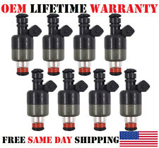 8X OEM Rochester Fuel Injectors for Pontiac Firebird Chevy Corvette Camaro 5.7L