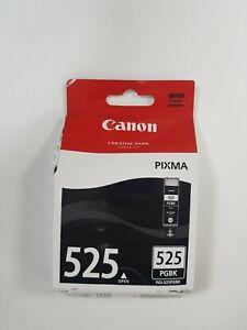 Canon PGI-525 Pigment Black Inkjet Cartridge. Box Opened. Unused. PGI-525PGBK