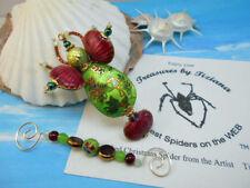 TreasuresbyTiziana® Ooak Beaded Sea Robin Flying Fish Cloisonne Ornament Gift