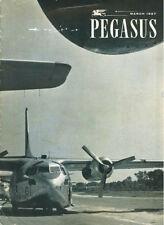 PEGASUS MAR 1957 RCAF 435TH C-119 FLYING BOX CAR UN SUEZ_FAIRCHILD C-123 PROVIDE