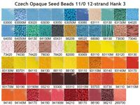 12 Kilo 110 Opaque Black Czech Seed Bead #CSG002