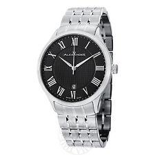 Alexander Men's A103B-02 Triumph Black Dial Bracelet Quartz Statesman Watch