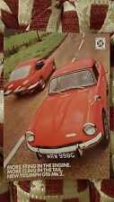 Triumph GT6 Mk2 1968 More Sting More Cling Vintage Ad Gallery Postcard Mint