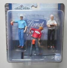 Ford Service Center Motorheads 1:18 Scale Figurine Diorama Figure Set