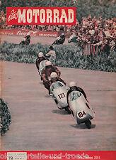 Das Motorrad Heft 12 18.Juni 1955 Test Zündapp 200S Koffer am Motorrad TT-Läufe
