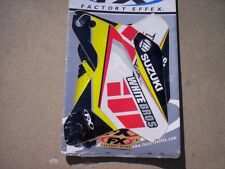 Factory Effex  White Brothers Graphics for 04-06 Suzuki RMZ450 / blowout priced