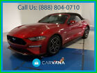 2020 Ford Mustang GT Premium Convertible 2D Keyless Entry Leather Blind-Spot Information System SiriusXM Satellite Power
