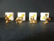 4 GOLD WADE WHIMSIES *BOXED*