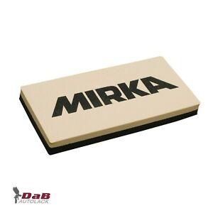 Mirka Schleifklotz für Nasspapier Schleifpapier Flexibler Gummi  Handblock