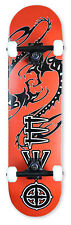 "Element Complete Skateboard: 31"" Canadian Maple Ply [ Fire Red Dragon ]"