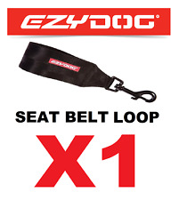 X2 EzyDog Car Seat Belt Attachments for Harness Black