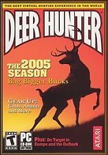 Deer Hunter 2005 - PC Atari Video Game