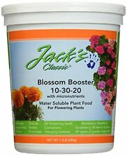 J R Peters Jacks Classic No.1.5 10-30-20 Blossom Booster Fertilizer, New, Free S