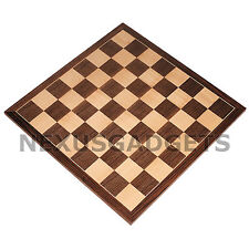 Chess 20 INCH EXTRA LARGE TOURNAMENT Wood Wooden Game Set Flat Inlaid BOARD ONLY