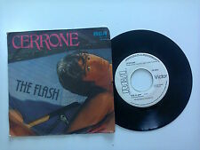 "Cerrone ‎/ The Flash ‎– Disco Vinile 45 Giri 7"" PROMO Stampa Italia 1980"