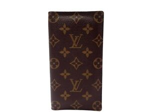 Authentic LOUIS VUITTON Monogram Long Wallet M61823 Valuer Browns