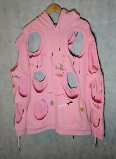Bjarne Melgaard Iconic Pink Embroidered Hoodie VFiles XL