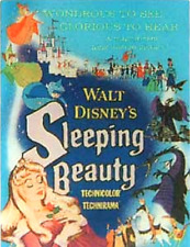 LE Disney PIN✿Sleeping Beauty Aurora Original Movie Poster Maleficent Phillip