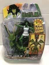 Hasbro Marvel Legends SHE-HULK Fin Fang Foom BAF Action Figure