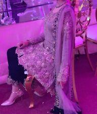 Pakistani Indian Lengha Salwar Kameez Wedding Heavy Embroidered Small
