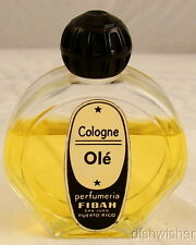 Perfumeria Fiba OLE Cologne 1 oz MISSING SOME