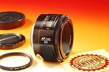 ***NEAR MINT*** MINOLTA MAXXUM AF 50mm f/1.7 Lens - For Sony A