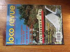 $$y Loco Revue N°531 Quais de gare  Fourgon chaudiere  Passage inferieur